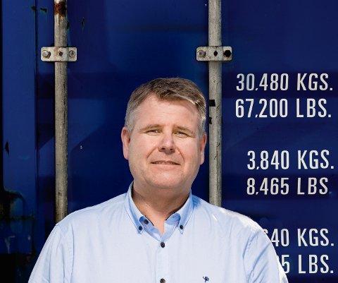 HAR UNNGÅTT KORONA: Terminalsjef Kenneth Mathisen ved Borg havn har ikke registrert en eneste smittet, etter cirka 400 skipsanløp de siste fem månedene. (Foto: Privat)