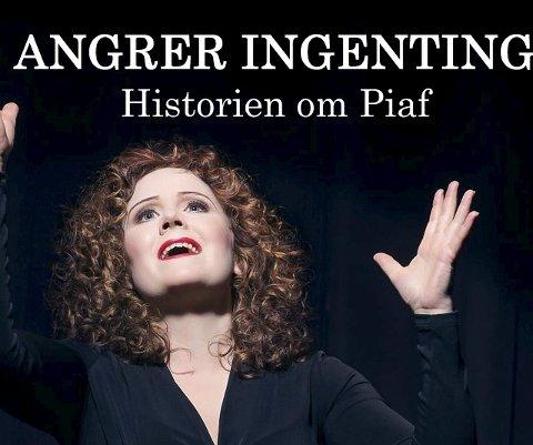 PIAF: Karin Fristad kommer til kultursalen med forestilling sammen med Tor Ingar Jakobsen.