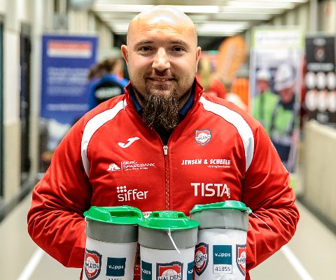 Erik Meusburger, leder i Halden Håndballklubb, håper å se mange medlemmer på klubbens ekstraordnære årsmøte mandag kveld.