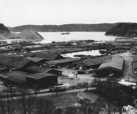 Stor og moderne: Høvleriet var i sin storhetstid sent på 1800-tallet rangert som Norges femte største bedrift, og var størst i landet på trelast.Foto: Arild Brunvand