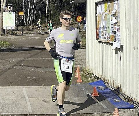 TEC 100–100 miles: Lørdag løper Thomas Pinås og Kristian Jahre (bildet) 100 miles, 161 kilometer i Berlin. Foto: Privat