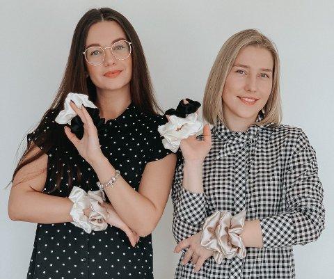 FRA VENNSKAP TIL BUSINESS: Justina Stundziene (t.v) og Dainora Alsauskyte har i løpet av de siste årene blitt gode venninner. Nå satser de på en av sine felles interesser.