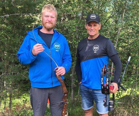 TIL EM: F.v. Terje Bakke og Atle Helland reiser til Slovenia i august for å representera Norge i EM.