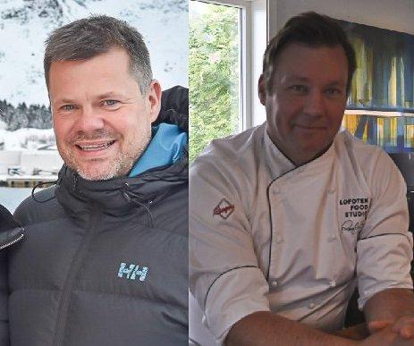 VIL DRIVE KAFE: Roy-Magne Berglund og Trond Ketil Nilsen har søkt om å få drive kafe i Meieribygget.