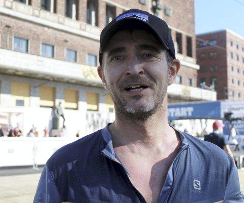 HARDHAUS: Odd Sandbu fra Otta løp alle tre distansene i Oslo Maraton.Foto: Sven Halvor Moe