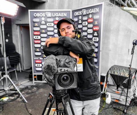 Fredrik Ulen er ofte ute på sportsoppdrag.