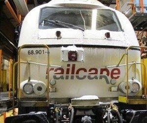 BREMSESVIKT: Lokomotivet passerte stoppsignal og stanset først i sporvekselen en kilometer lenge framme.