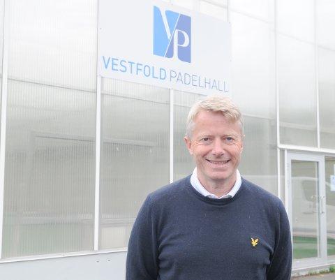 NYTT TILBUD: Hos Tom Arne Tollefsen i Vestfold Golfhall finner du nå også Vestfold Padelhall.