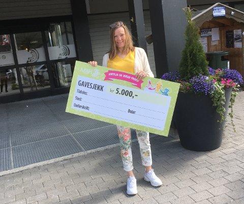 Bente Kristin Anti på Amfi Valdres håper på mange nominasjoner.