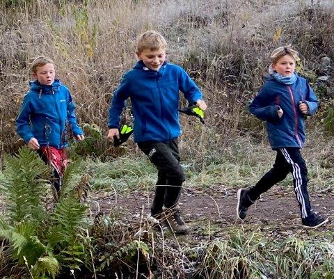 STOR INNSATS: Elevene ved Sørli skole har løpeferdighetene i orden. Så gode er de at skolen ble den største innsamleren til TV-aksjonen fra Nittedal. De er også blant de ti største bidragsyterne i Viken fylke.