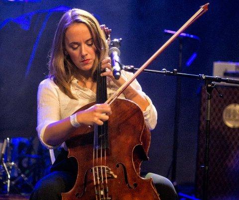Har tro: Kaja Pettersen har store forhåpninger til bandet sitt, TeleGram.