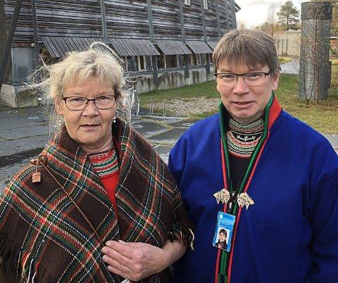Nora Marie Bransfjell og Thomas Åhren