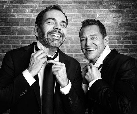 PANGOPNING: Heine Totland og Gisle Børge Styve opnar Fonnesdagane fredag kveld.
