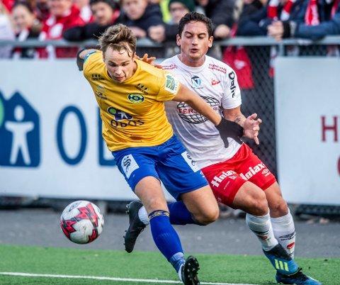 Vært het: Kjell Rune Sellin har sett bra ut så langt i sesongoppkjøringen. Nå håper spissen aet 2019-sesongen skal bli bedre enn fjorårets.