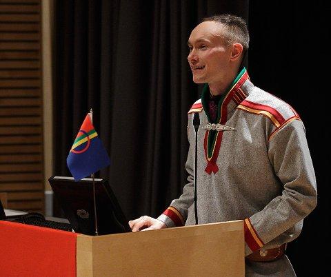 Håper på VM: Sametingsrepresentant Runar Myrnes Balto har et sterkt håp om at Narvik skal få alpin-VM. Derfor har han og Norske samers riksforbund (NSR) også gått ut og støttet Narviks VM-søknad.
