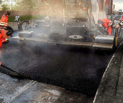 RINGEBU FÅR MEST: 11 strekninger i dalen får ny asfalt i sommer. Ringebu får en tredjedel av totalen.