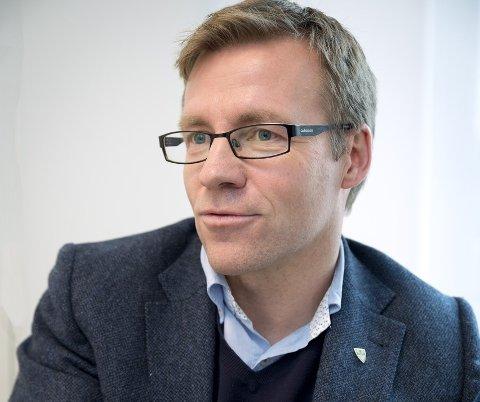 Åsmund Haugstad Sandvik. (48) er klar for å bryne seg på utfordringer i Øyer kommune.