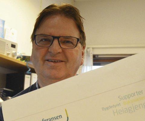 KONFERANSE: Dagfinn Edvardsen inviterer til Hadelandskonferansen fredag 16. november. Arkivfoto