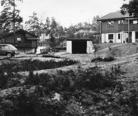 Ettertraktet: Stenrød ble et av de mest populære boligfeltene på 70- og 80-tallet. Antall søkere til de nye tomtene var flere ganger høyere enn tomtene som skulle fordeles etter behov og søkeransiennitet.Arkivfoto: Arild Brunvand