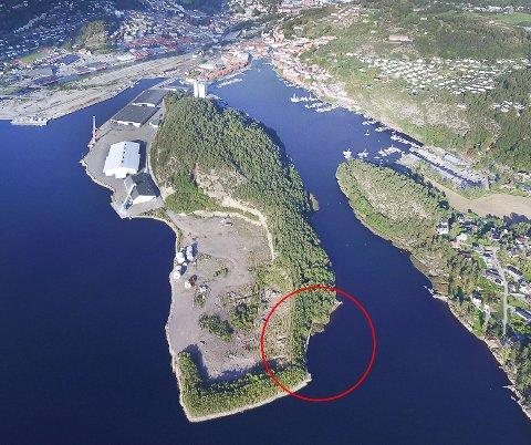 Flere har ønsket bystrand på Sauøya.