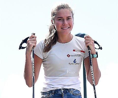 TVILER PÅ NM-START: Martine Svendsby tviler på at det blir arrangert noe junior-NM selv om skiforbundet har sagt at de skal prøve å få arrangert det.