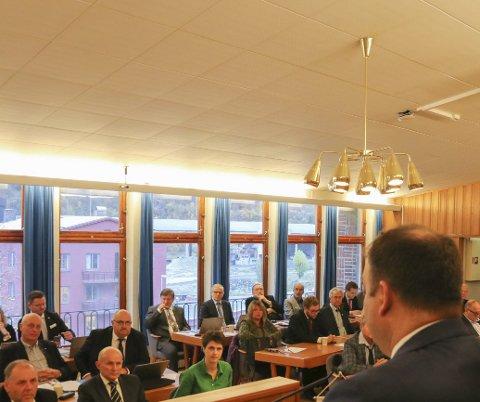 Politikarane i Ullensvang skal ta stilling til administrasjonen sitt forslag til språkplan for Ullensvang. Arkivfoto: Eivind Dahle Sjåstad