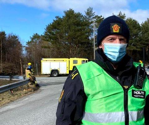 INNSATSLEDER: Ørjan Skau.