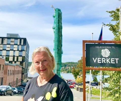 EGET UTVALG: Frps Liv Leirstein satt i et utvalg som vurderte bevaring av koker'n. Hun er mot å skyve regningen  på 20 millioner over på Høegh Eiendom. Det vil heller ikke Ap og Høyre.