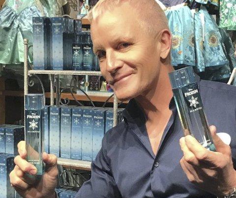 PARFYMEMAKER: Geir Ness fra Bekkelaget gjør suksess i USA. Foto: Privat
