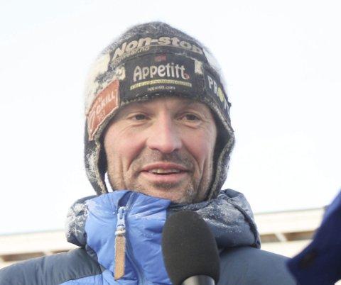 I TET: Thomas Wærner ligger an til å bli tredje nordmann som går til topps i Iditarod. (Arkivbilde)