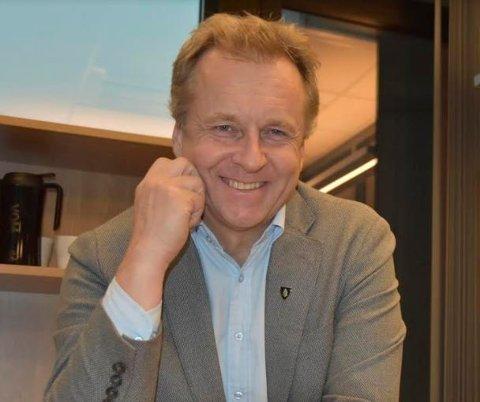 Ordfører Saxe Frøshaug sier han er ydmyk etter utnevnelsen som leder i Senterpartiets ordførerforum.