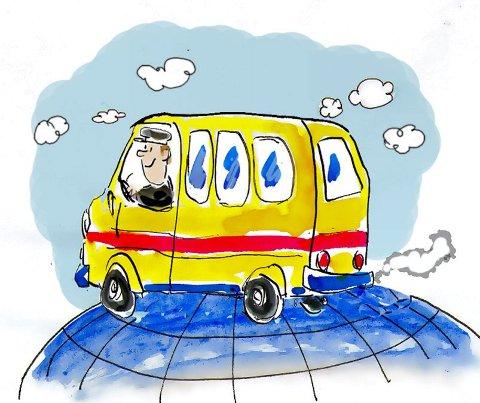 – Alle er enige om at kollektivtrafikken bør prioriteres, skriver Johannes Thue.