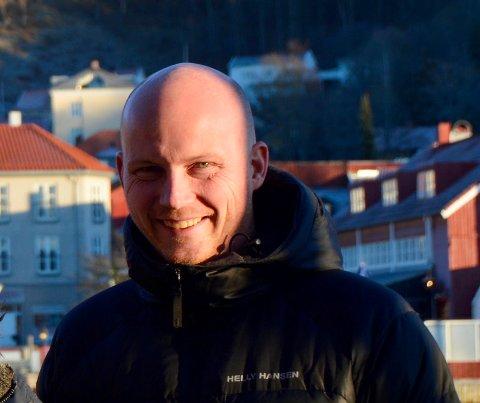 JUBILANT: Tom-Erik Sandberg er 40 år.
