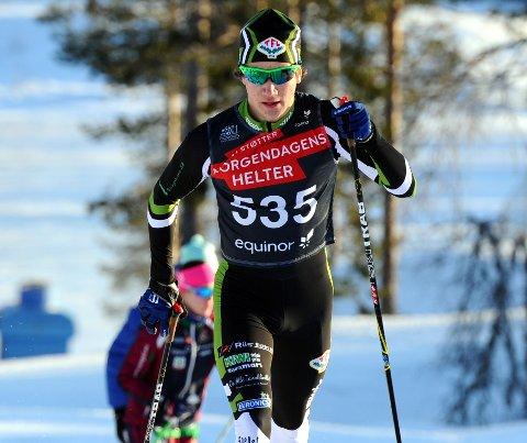 I FORM: Johan Unneberg er svært skuffet over at han ikke får muligheten til å konkurrere om gode plasseringer i junior-NM i langrenn.