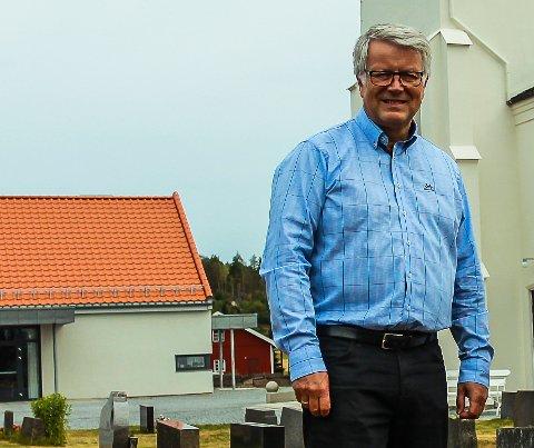 INGEN SØKERE:  Stillingen til Kjell Halvard Flø om sokneprest i Asak må lyses ut igjen, da det ikke forelå noen søkere ved fristens utløp.