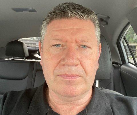 LATER IKKE SOM: Morten Eriksen kommer til å adressere taxinæringen problemer med seksuell trakassering på landsmøtet over sommeren.