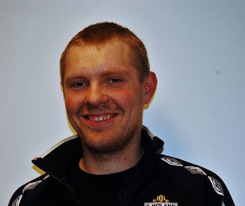 Fredrik Bergsjø sto for to av målene da Søndre vant 6-0 i serieåpningen i 6. divisjon. Foto: Øivind Eriksen