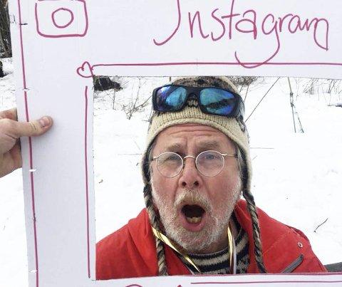 Morsom: Fred Nordseth var en artig speaker somskapte liv i bakken.alle foto: Kyrre Hansen