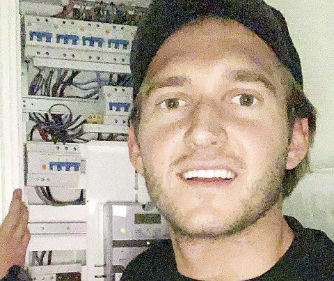 Klar for femkilometeren: Elektriker og montør Adam Halilovic fra Alt Installasjon AS i Våle er en av 45 fra bedriften, som har meldt seg på lørdagens arrangement. – Dette blir moro, sier han. Foto: Privat