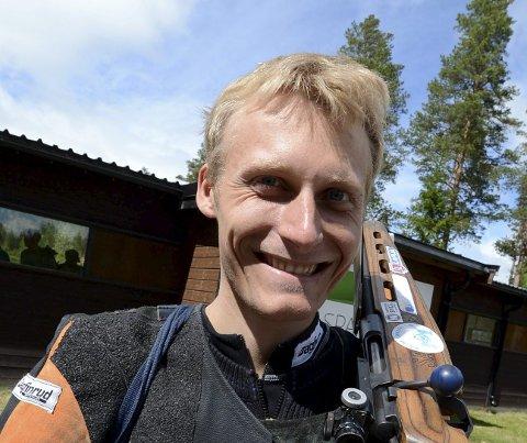 350 POENG: Jondølen Kim-Andre Aannestad Lund skjøt 350 poeng og det er hans trettende godkjente norgesrekord. ALLE FOTO: OLE JOHN HOSTVEDT