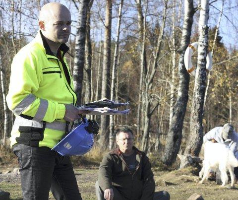 GA SVAR: Prosjektleder Kurt Kristoffersen fra Vann- og avløpsetaten svarte på spørsmål fra blant andre Rolf Eliassen.