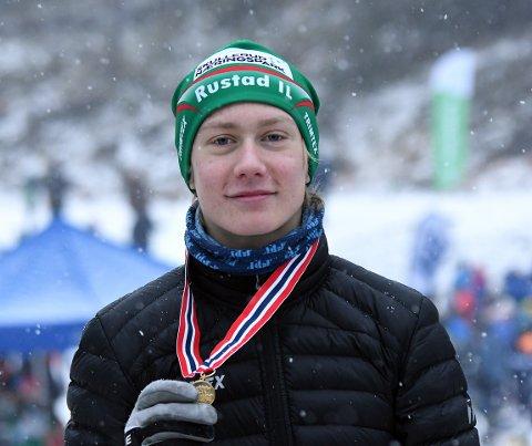KRETSMESTER: Iver Tildheim Andersen fra Rustad ble kretsmester for første gang søndag.