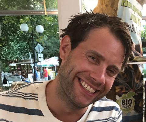 TOK UTFORDRINGEN: Erland Linnerud (34) fra Hunndalen og nå Bybrua deltok i TV-programmet «Alle mot 1»  på NRK1 lørdag kveld.