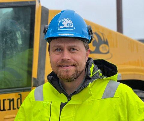 NY TOPPSJEF: Erik Hedvald Nilsen er Arne Olav Lunds nye toppsjef.
