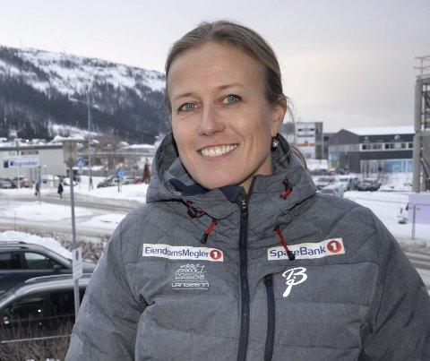 NY: Kristin Ludvigsen vet hva det vil si å organisere, men har ikke full kontroll på det fotballsportslige - ennå.Foto: Trond Isaksen