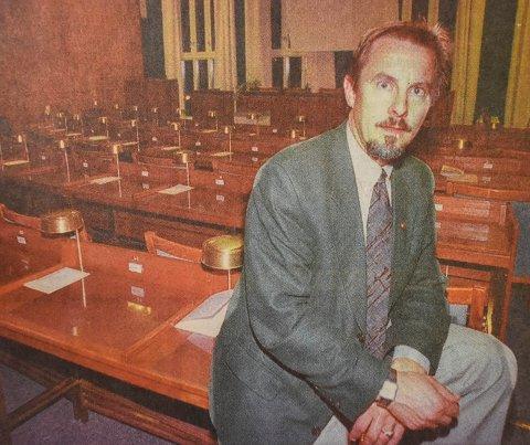 ANNO 1999: Helge Stiksrud var aktiv i lokalpolitikken også for 20 år siden.