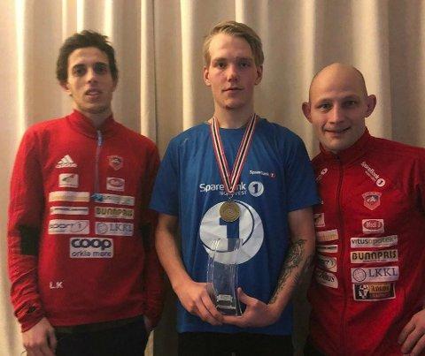 Det ble 3.-plass til KAK-bryteren Adrian Ødegård i NM lørdag.