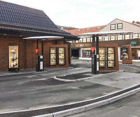 SOM I BERGEN: Eduardo Jacobsen ønsker å bygge ny drive-through ved McDonald's i Vestby. Løsningen kan bli mye lik den som er bygget i Bergen (bildet).