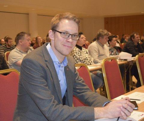 Mot a-krim: Stortingsrepresentant Eigil Knutsen (Ap) vil skjerpe arbeidsmiljøloven og styrke arbeidet mot arbeidslivskriminalitet. Nå fremme han en rekke forslag i Stortinget. FOTO: DAG BJØRNDAL