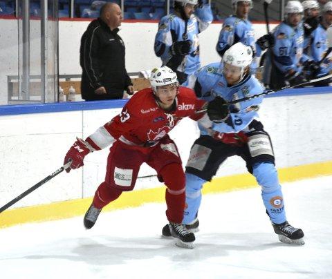 Benjamin Salte og BIK, her i kamp mot divisjonskollega Haugesund tidligere denne sesongen, må smøre seg med tålmodighet. (Arkivfoto: Einar Lundsør)